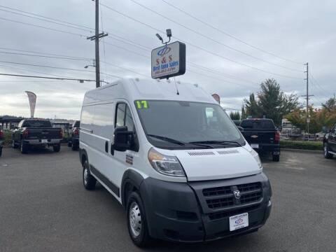 2017 RAM ProMaster Cargo for sale at S&S Best Auto Sales LLC in Auburn WA