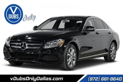 2015 Mercedes-Benz C-Class for sale at VDUBS ONLY in Dallas TX
