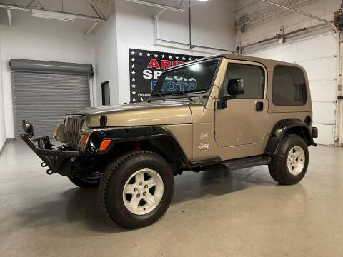 2004 Jeep Wrangler for sale at Arizona Specialty Motors in Tempe AZ