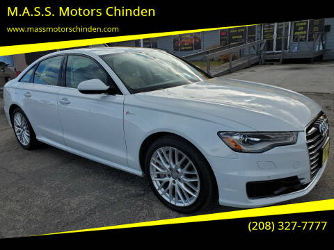 2016 Audi A6 for sale at M.A.S.S. Motors Chinden in Garden City ID