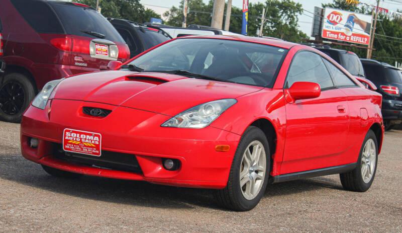 2000 Toyota Celica for sale at SOLOMA AUTO SALES in Grand Island NE