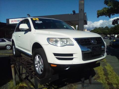 2008 Volkswagen Touareg 2 for sale at Payless Car & Truck Sales in Mount Vernon WA
