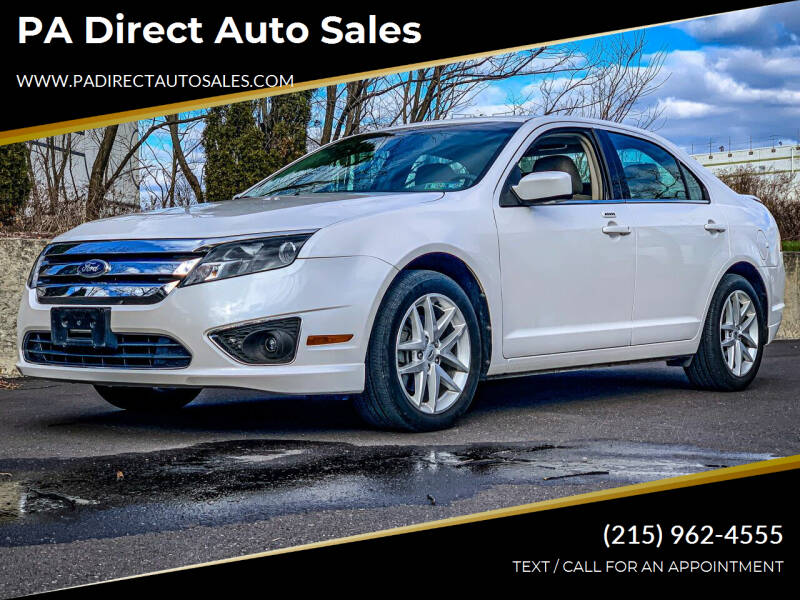 2012 Ford Fusion for sale at PA Direct Auto Sales in Levittown PA