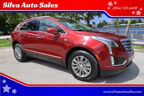 2018 Cadillac XT5 for sale at Silva Auto Sales in Pompano Beach FL