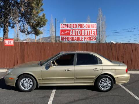 2003 Hyundai Sonata for sale at Flagstaff Auto Outlet in Flagstaff AZ