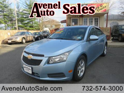 2011 Chevrolet Cruze for sale at Avenel Auto Sales in Avenel NJ