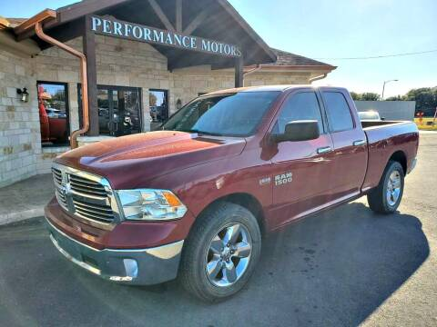 2015 RAM Ram Pickup 1500 for sale at Performance Motors Killeen Second Chance in Killeen TX