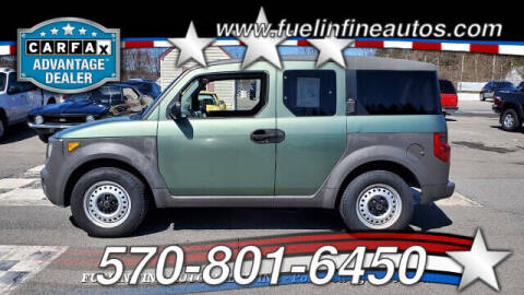 2004 Honda Element for sale at FUELIN FINE AUTO SALES INC in Saylorsburg PA