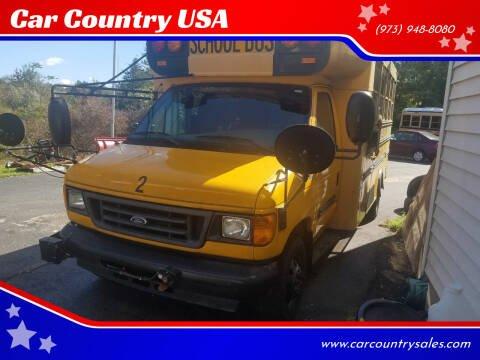 2006 Ford E-450 for sale at Car Country USA in Augusta NJ