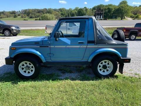 1987 Suzuki Samurai for sale at Steve's Auto Sales in Harrison AR
