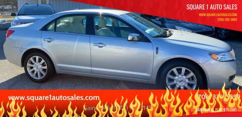 2011 Lincoln MKZ for sale at Square 1 Auto Sales - Commerce in Commerce GA