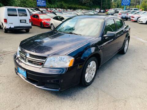 2012 Dodge Avenger for sale at Sport Motive Auto Sales in Seattle WA