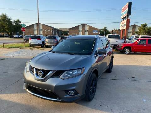 2015 Nissan Rogue for sale at Car Gallery in Oklahoma City OK