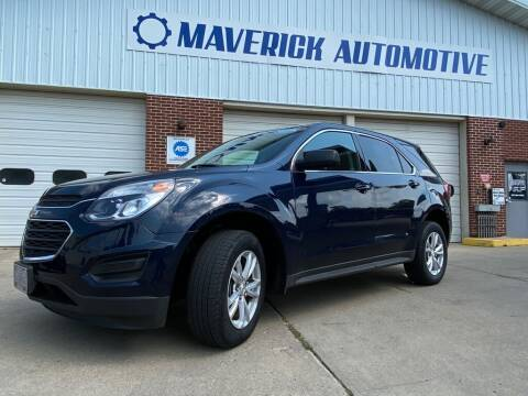 2017 Chevrolet Equinox for sale at Maverick Automotive in Arlington MN