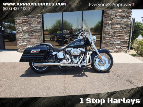 2008 Harley-Davidson Fat Boy FLSTF for sale at 1 Stop Harleys in Peoria AZ