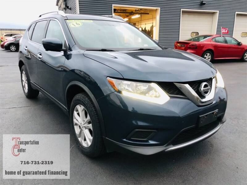 2016 Nissan Rogue for sale at Transportation Center Of Western New York in Niagara Falls NY