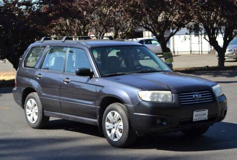 2008 Subaru Forester for sale at Skyline Motors Auto Sales in Tacoma WA