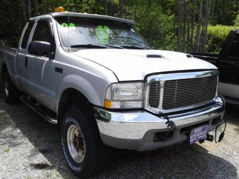 2004 Ford F-250 Super Duty for sale at Quest Auto Outlet in Chichester NH