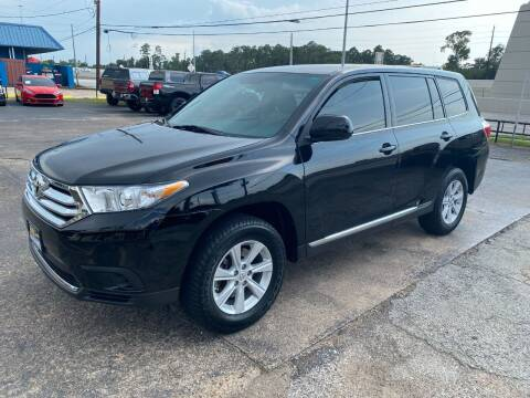 2013 Toyota Highlander for sale at Bay Motors in Tomball TX