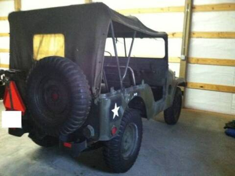 1955 Jeep M38A1 for sale at Haggle Me Classics in Hobart IN