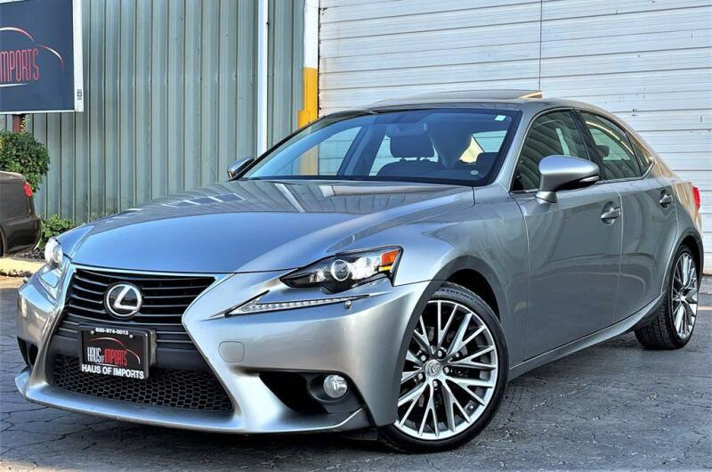 2014 Lexus IS 250 for sale at Haus of Imports in Lemont IL