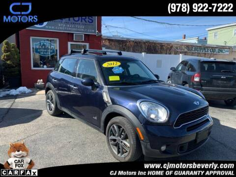 2012 MINI Cooper Countryman for sale at CJ Motors Inc. in Beverly MA