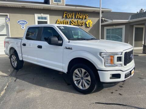 2018 Ford F-150 for sale at Fort Hays Auto Sales in Hays KS