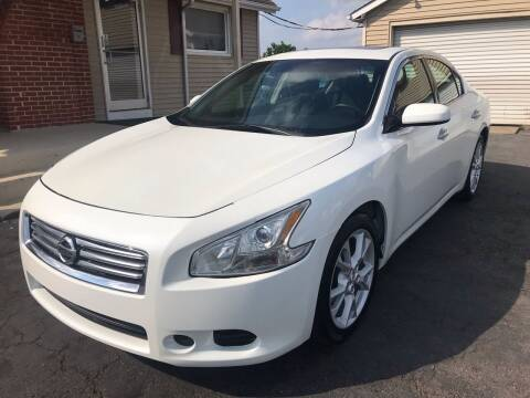 2014 Nissan Maxima for sale at Cooks Motors in Westampton NJ