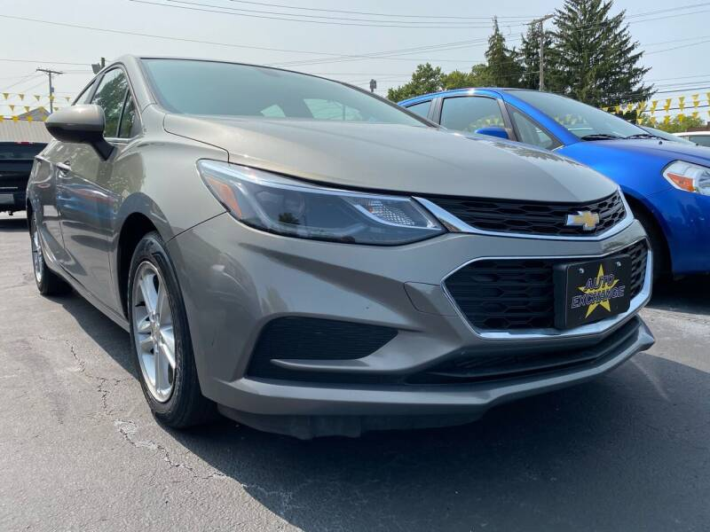 2017 Chevrolet Cruze for sale at Auto Exchange in The Plains OH