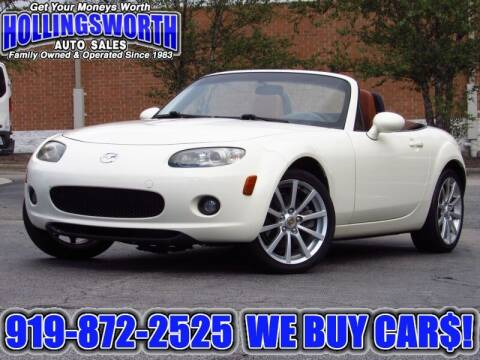 2006 Mazda MX-5 Miata for sale at Hollingsworth Auto Sales in Raleigh NC