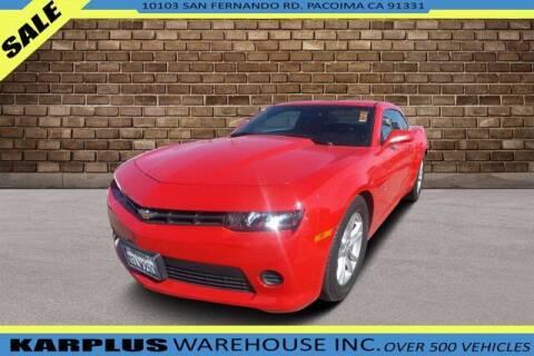 2014 Chevrolet Camaro for sale at Karplus Warehouse in Pacoima CA