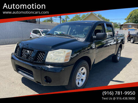 2006 Nissan Titan for sale at Automotion in Roseville CA