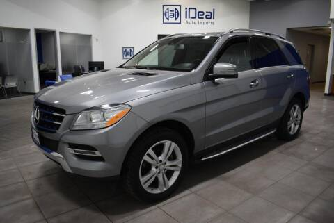 2015 Mercedes-Benz M-Class for sale at iDeal Auto Imports in Eden Prairie MN
