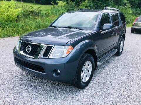 2012 Nissan Pathfinder for sale at R.A. Auto Sales in East Liverpool OH
