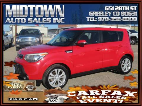 2014 Kia Soul for sale at MIDTOWN AUTO SALES INC in Greeley CO