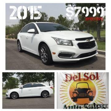 2015 Chevrolet Cruze for sale at Del Sol Auto Sales in Las Vegas NV
