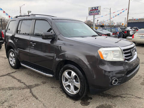 2012 Honda Pilot for sale at SKY AUTO SALES in Detroit MI