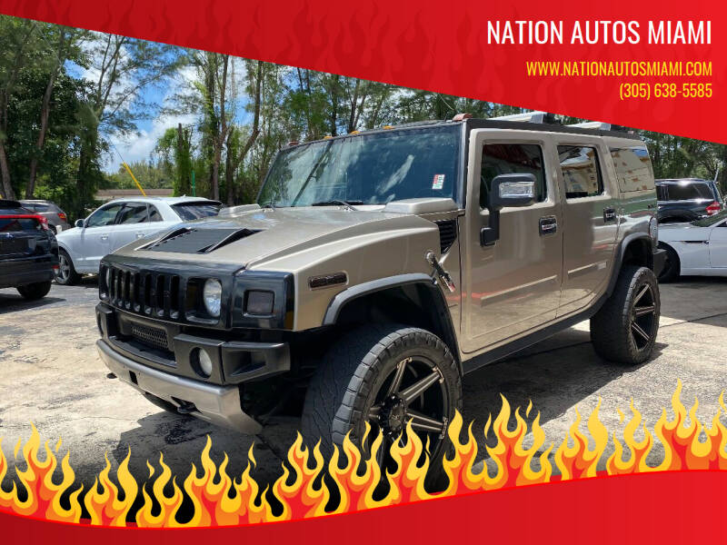 2006 HUMMER H2 for sale at Nation Autos Miami in Hialeah FL