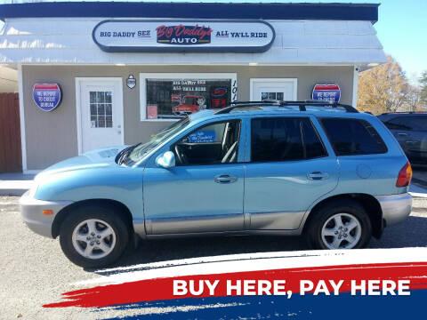 2004 Hyundai Santa Fe for sale at BIG DADDY'S  A.L.D. in Winston Salem NC