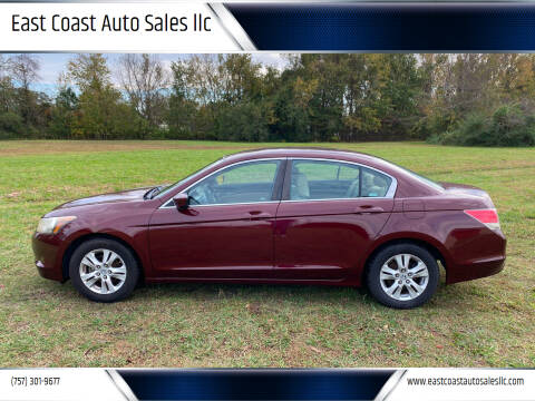 2009 Honda Accord for sale at East Coast Auto Sales llc in Virginia Beach VA
