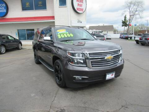 2015 Chevrolet Suburban for sale at Auto Land Inc in Crest Hill IL