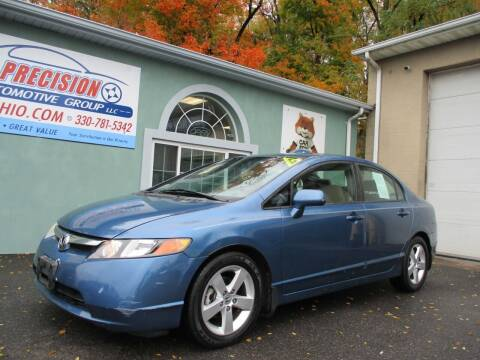 2008 Honda Civic for sale at Precision Automotive Group in Youngstown OH
