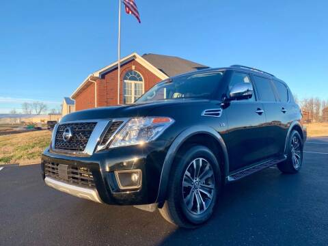 2018 Nissan Armada for sale at HillView Motors in Shepherdsville KY