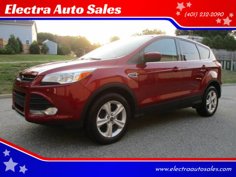 2013 Ford Escape for sale at Electra Auto Sales in Johnston RI
