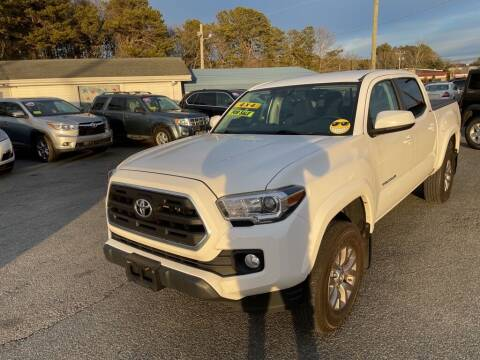 2017 Toyota Tacoma for sale at U FIRST AUTO SALES LLC in East Wareham MA