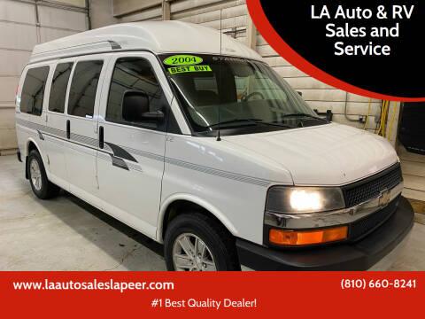 2004 Chevrolet Express Cargo for sale at LA Auto & RV Sales and Service in Lapeer MI