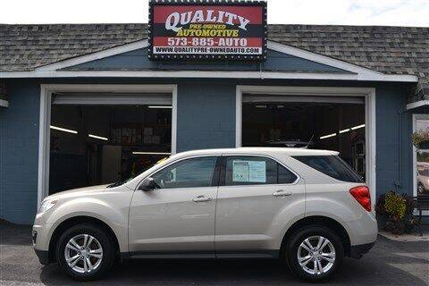 2014 Chevrolet Equinox for sale at Quality Pre-Owned Automotive in Cuba MO
