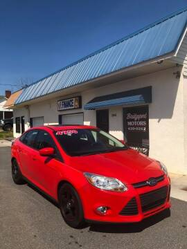 2012 Ford Focus for sale at BRIDGEPORT MOTORS in Morganton NC