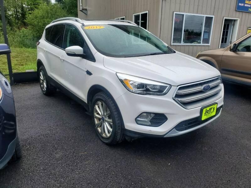 2017 Ford Escape for sale at Jeff's Sales & Service in Presque Isle ME