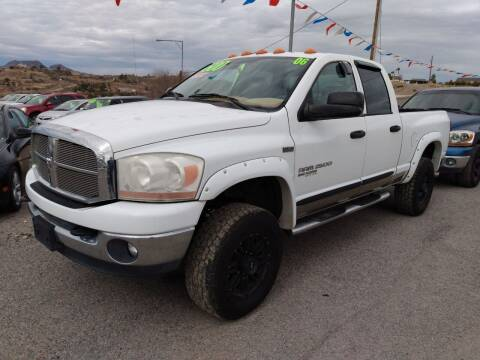 2006 Dodge Ram Pickup 2500 for sale at Hilltop Motors in Globe AZ